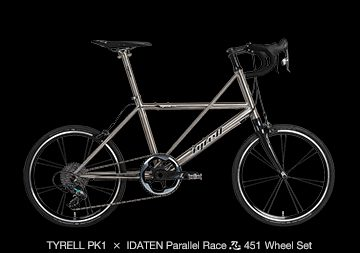 TYRELL PK1 × IDATEN Parallel Race 忍(shinobi) 451 Wheel Set